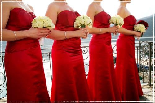 Non Traditional Red Wedding Dresses: SI, SARO' LA DAMIGELLA DELLA SPOSA! « Anter