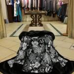 ANTER-Piumino Fantasia con bordi finta pelliccia